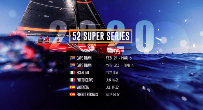 52 Super Series en Sudáfrica