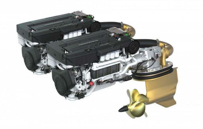 Motores híbridos para embarcaciones