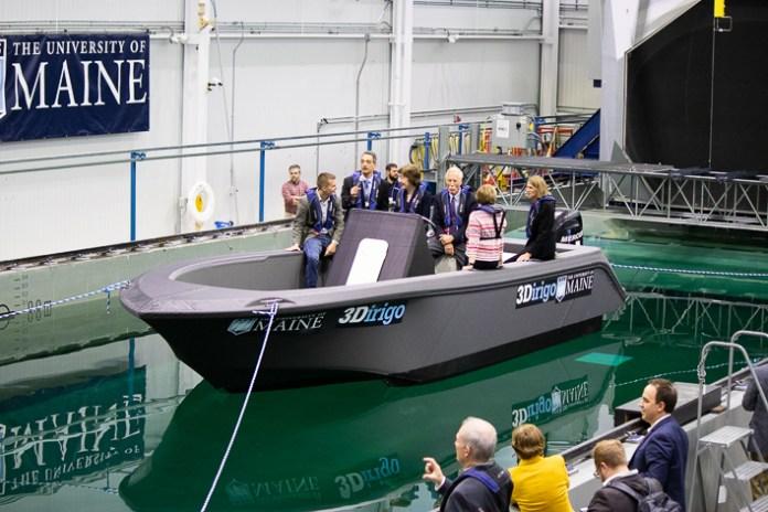 Barco impreso en 3D