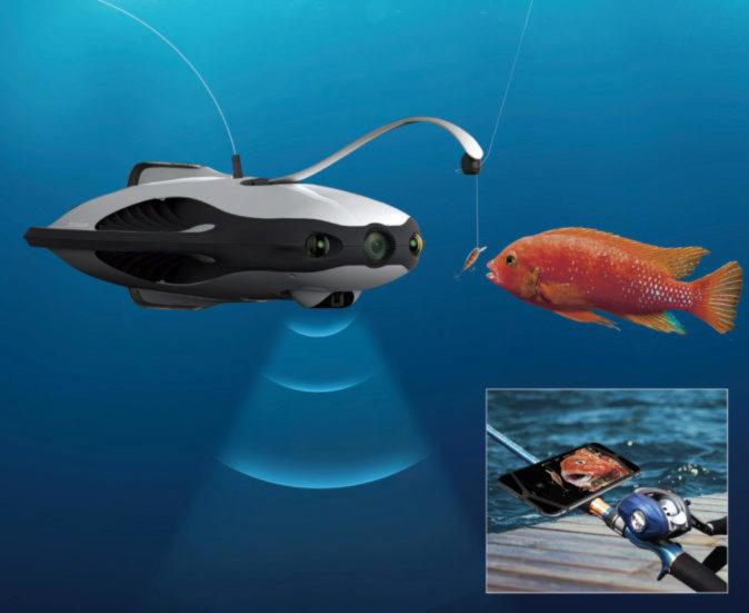 Drone submarino PowerRay