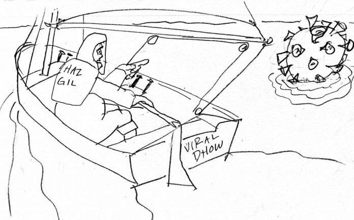 Coronavirus y navegar