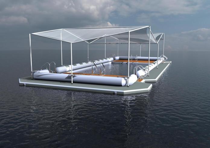 SuperPool, la piscina en el océano