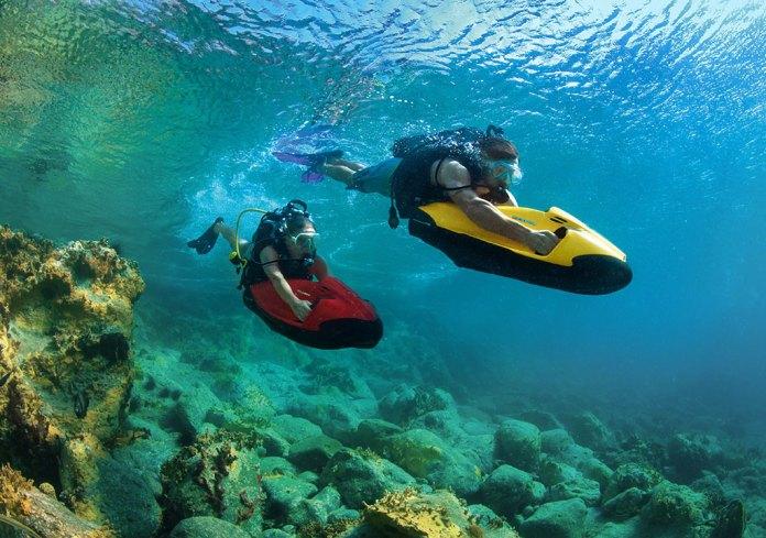 Seabob, el scooter acuático