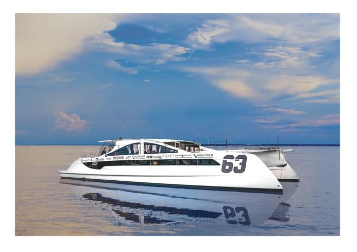 Catamarán Class 6 Power