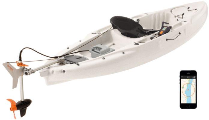Motores electricos Torqueedo para kayaks