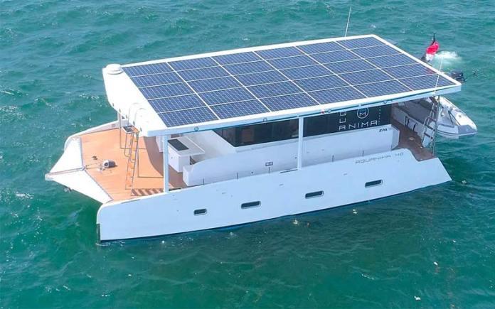Catamarán Eléctrico Aquanima 40