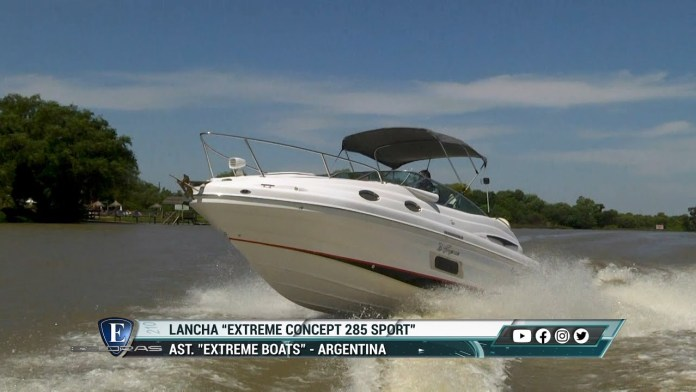 Lancha Sport Extreme Concept 285