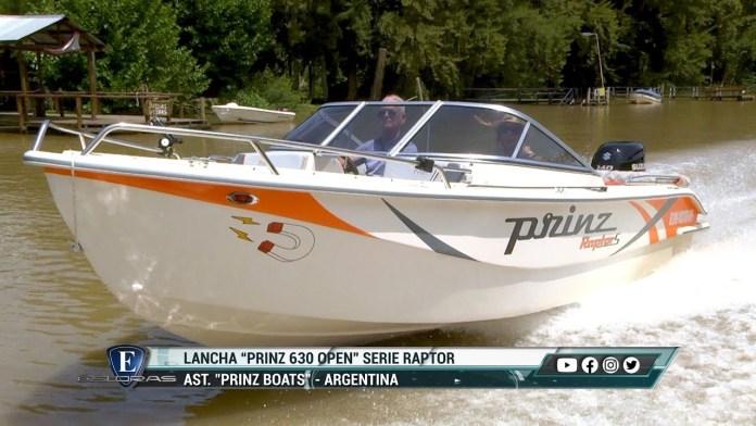 Lancha Prinz 630 Open Serie Raptor