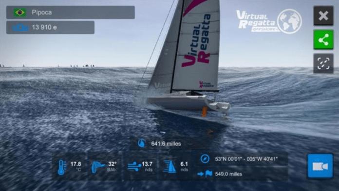 Rolex Fastnet Race con Virtual Regatta