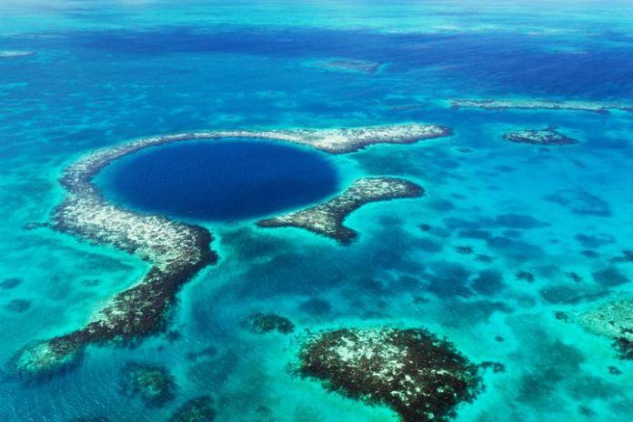 Blue Hole de Belice