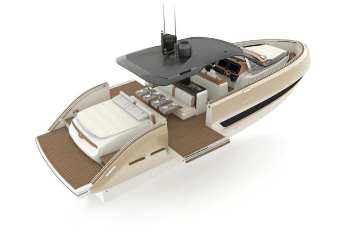 Lancha TT460 de Invictus Yacht