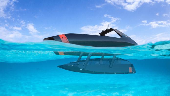 Swordfish 40, embarcación semisumergible