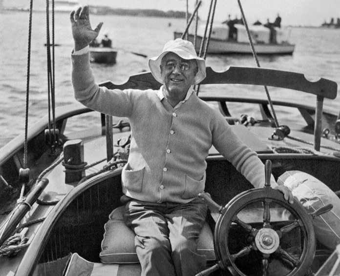 Franklin D. Roosevelt, el presidente Skipper