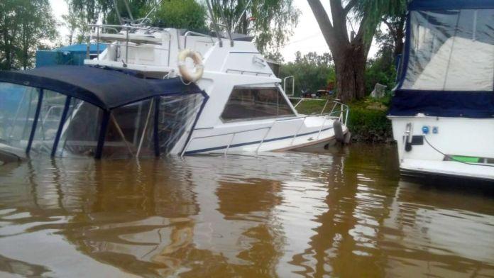 Nautica en crisis