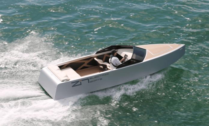 Lancha eléctrica Zin Boats