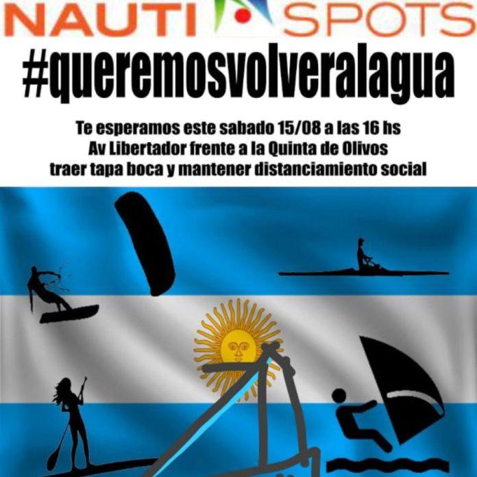 #queremosvolveralagua