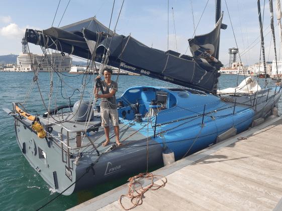 Dídac Costa clasificado para la Vendée Globe