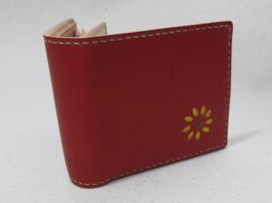 ルドベキア二つ折り財布