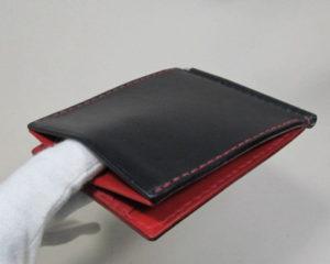 板ばねポケット付きマネークリップ 180205