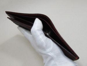 二つ折り財布札入れ2室