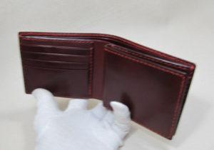 ヌメワインかっこいい財布