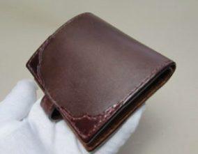 二つ折り財布コンパクト使い易い