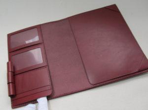A5サイズ手帳カバー4