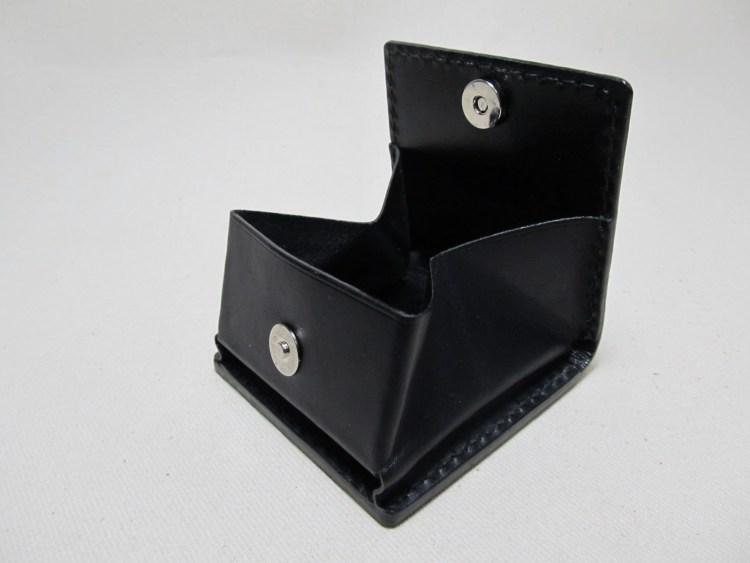 ボックスコインケースマグネットホック