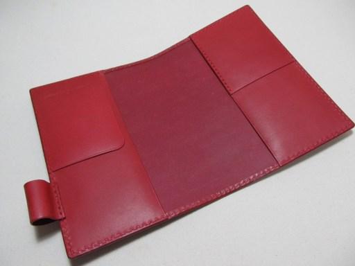 SUMMY SCHEDULE BOOK革カバー赤1903153