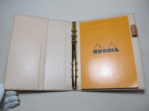 システム手帳A5サイズ +ロディア16 190828