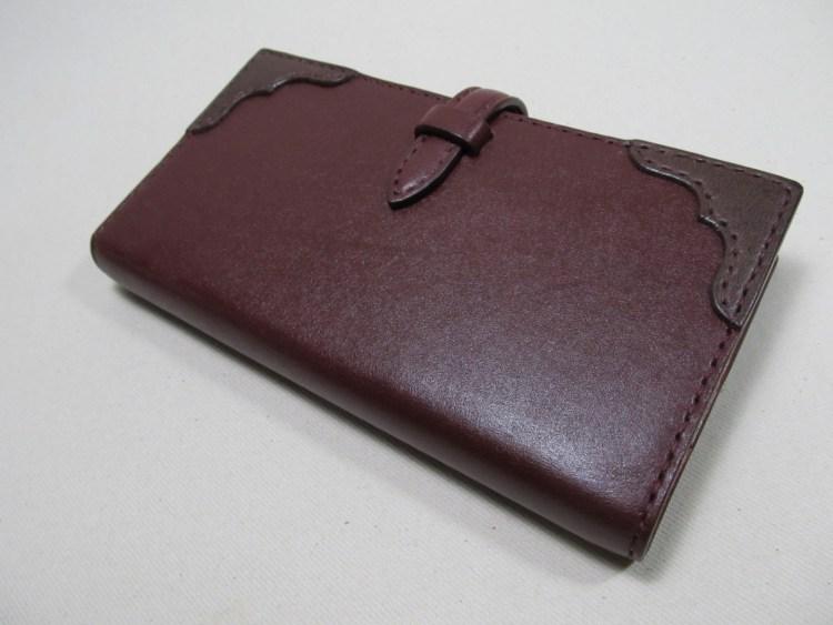 システム手帳バイブルナローサイズ 191106表紙ベルト
