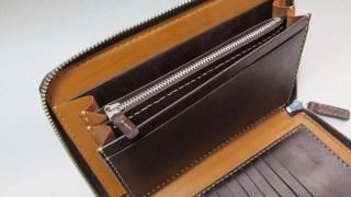 ラウンドファスナー多収納財布 191228小銭入れファスナー