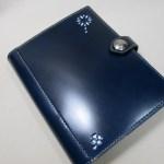 システム手帳A5サイズコードバンブルーネイビー200109クール