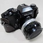 Nikon Nikomat EL用ボトムカバー 191202革