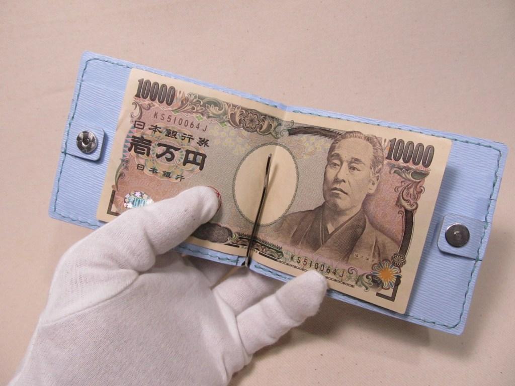 マネークリップ小銭入れ付200415