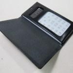 ドコモワンナンバーフォン横開きシンプルケース 200802