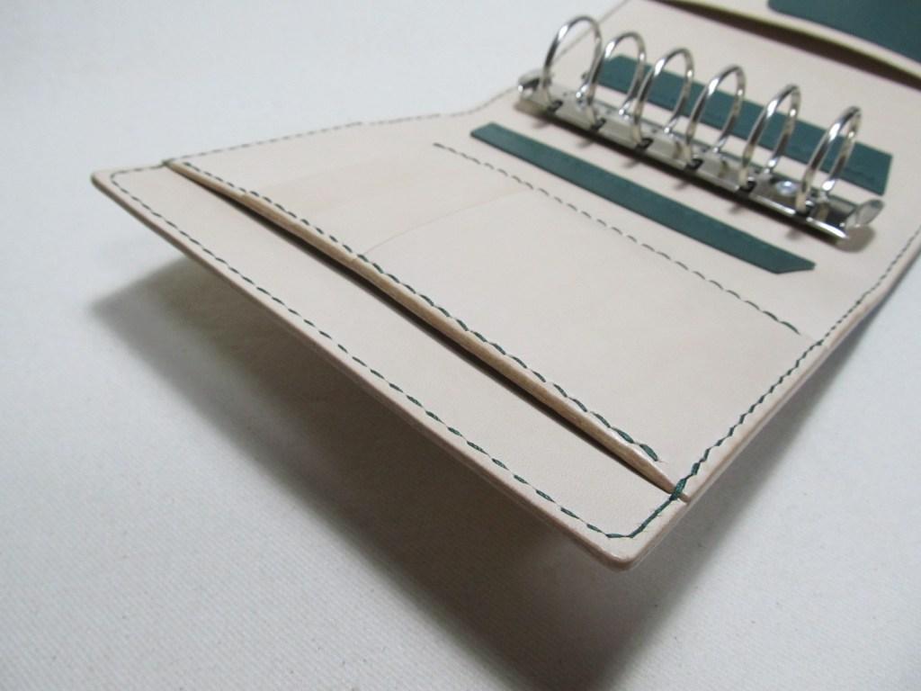 システム手帳A6サイズ30mmリング210322