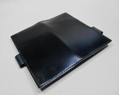 B6変形手帳革カバーコードバン