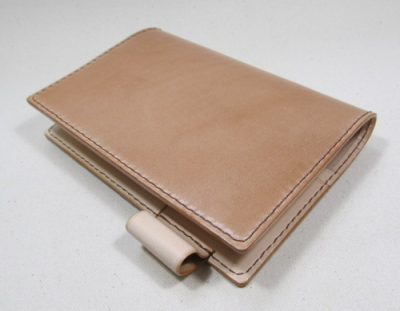 コードバンナチュラル革の手帳カバー