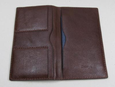 10年用パスポートケースヌメ革