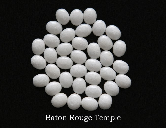 Temple stones from the LDS Baton Rouge Temple by Nauvoo Remembered jewelry