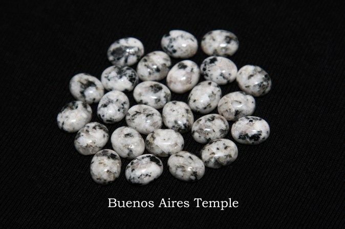 Temple stones from the LDS Buenos Aires Temple by Nauvoo Remembered jewelry