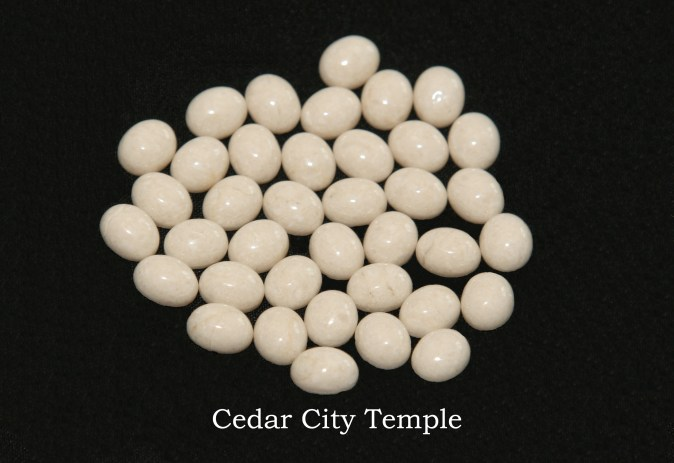 Temple stones from the LDS Cedar City Temple by Nauvoo Remembered jewelry