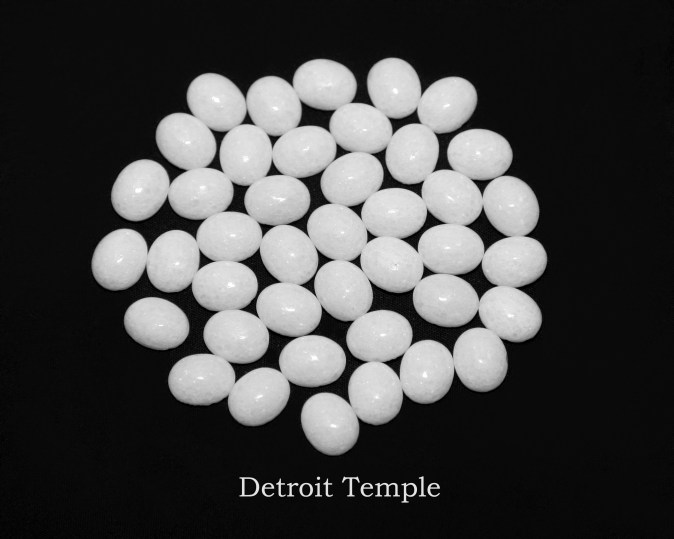 Temple stones from the LDS Detroit Temple by Nauvoo Remembered jewelry