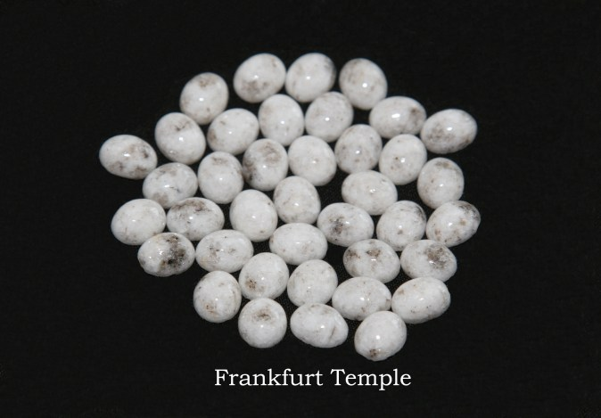 Temple stones from the LDS Frankfurt Temple by Nauvoo Remembered jewelry