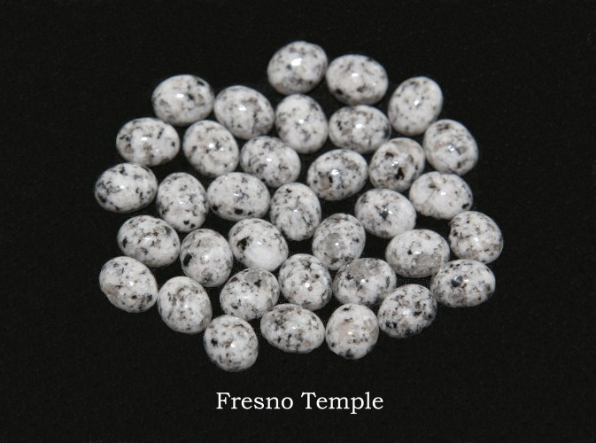 Temple stones from the LDS Fresno Temple by Nauvoo Remembered jewelry