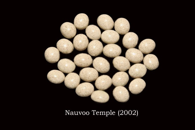 Temple stones from the new LDS Nauvoo Temple by Nauvoo Remembered jewelry