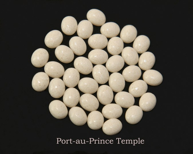Temple stones from the LDS Port-au-Prince Temple by Nauvoo Remembered jewelry