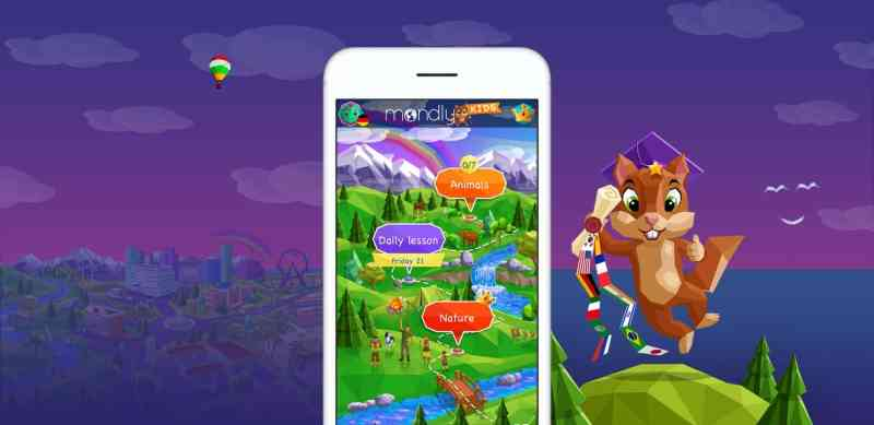 Mondly kids אפליקציה ללימוד שפה לילדים