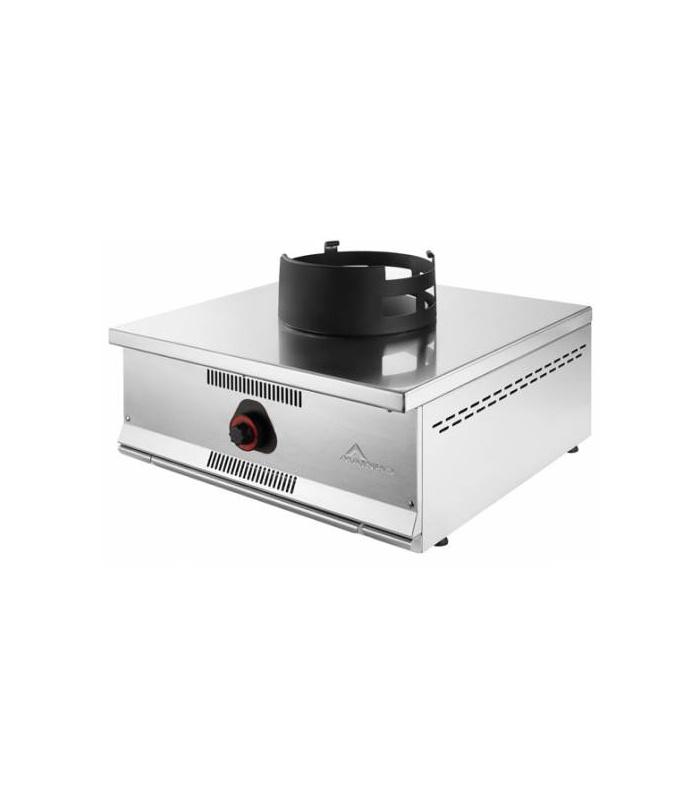 Cocina Wok Industrial Sobremostrador a Gas 1 Fuego Serie